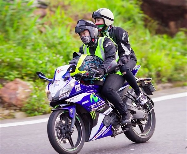 xe máy đi phượt