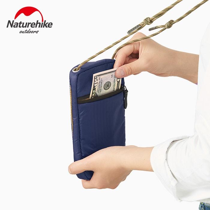 túi đựng hộ chiếu đeo cổ naturehike