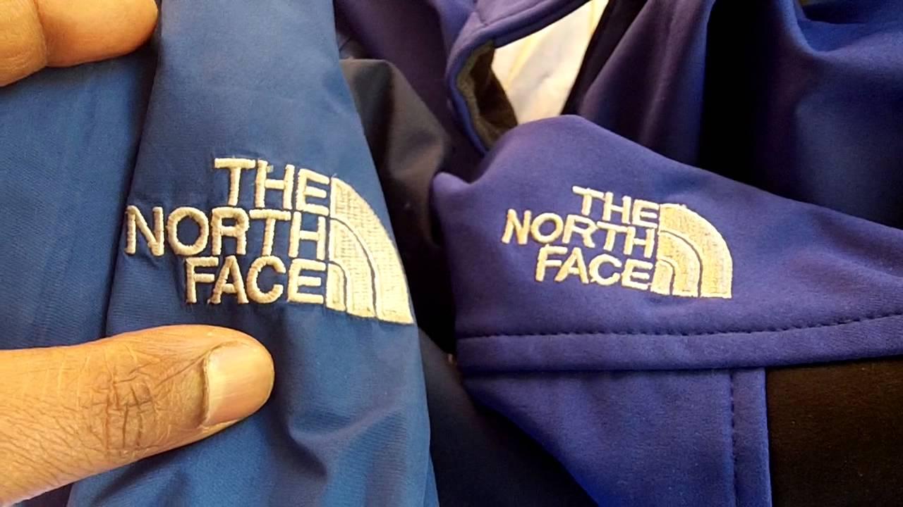 phân biệt áo the north face