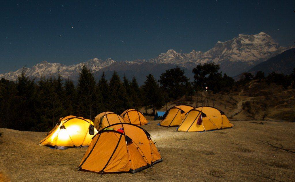 lều cắm trại chống nước