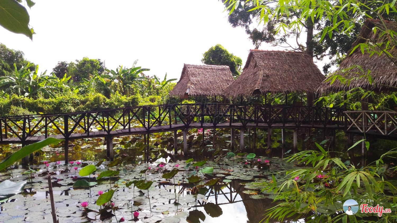 Khu du lịch ở Cần Thơ- nhà vườn Thảo Nguyên