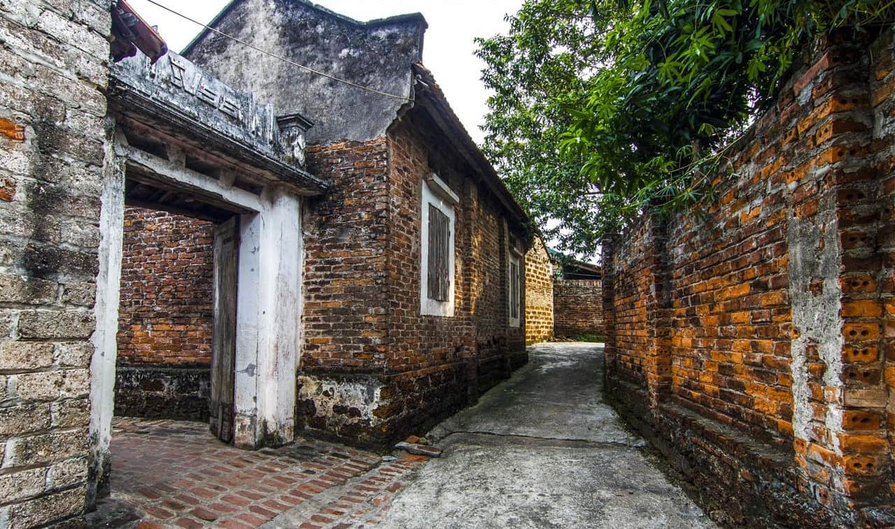 làng cổ đường lâm không gian cổ kính