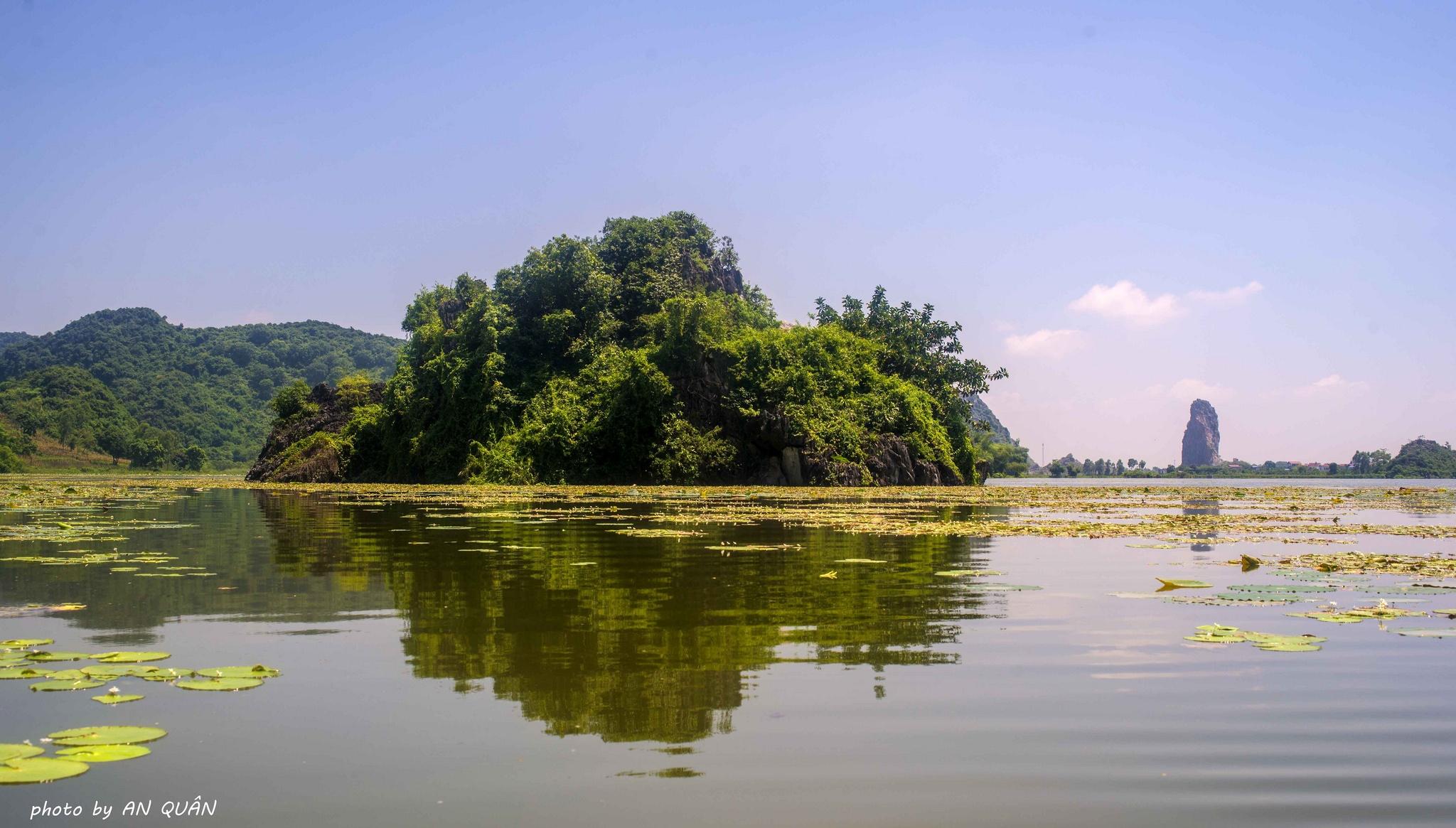 Khu du lịch sinh thái quanh hà nội hồ Quan Sơn