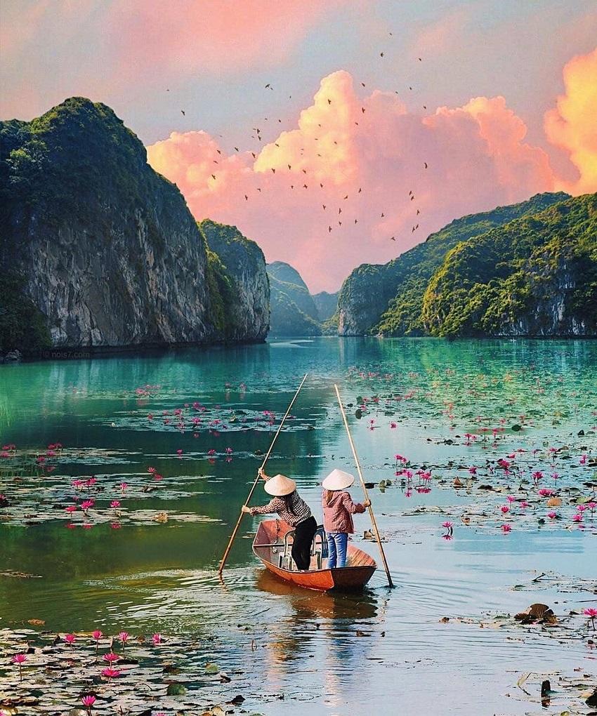 Khu du lịch sinh thái gần hà nội hồ Quan Sơn