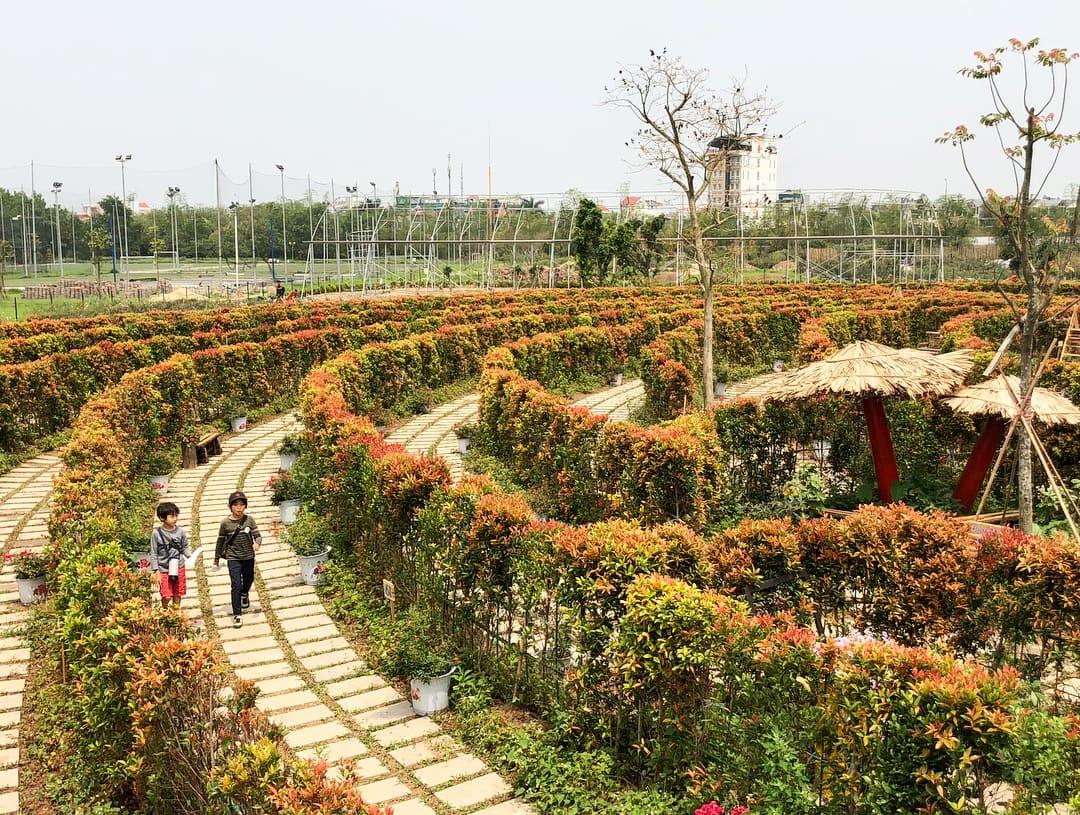 khu du lịch sinh thái ở hà nội rose park