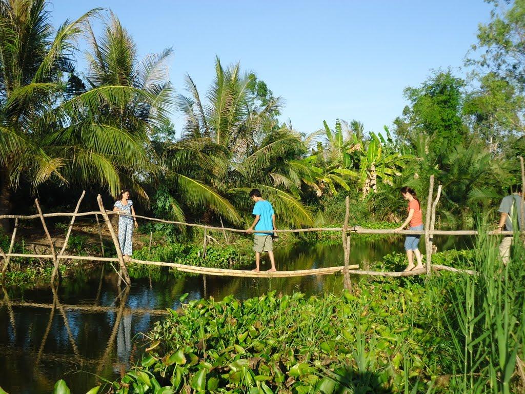 Nông trại sân chim Vàm Hồ du lịch sinh thái Bến Tre
