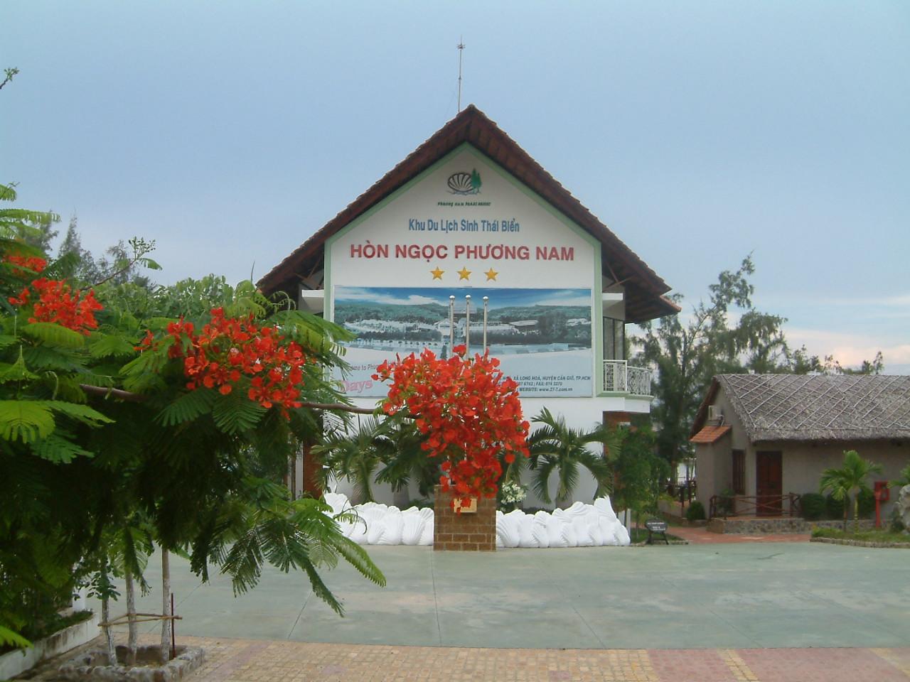 Resort Phương Nam Cần Giờ nằm ở đâu