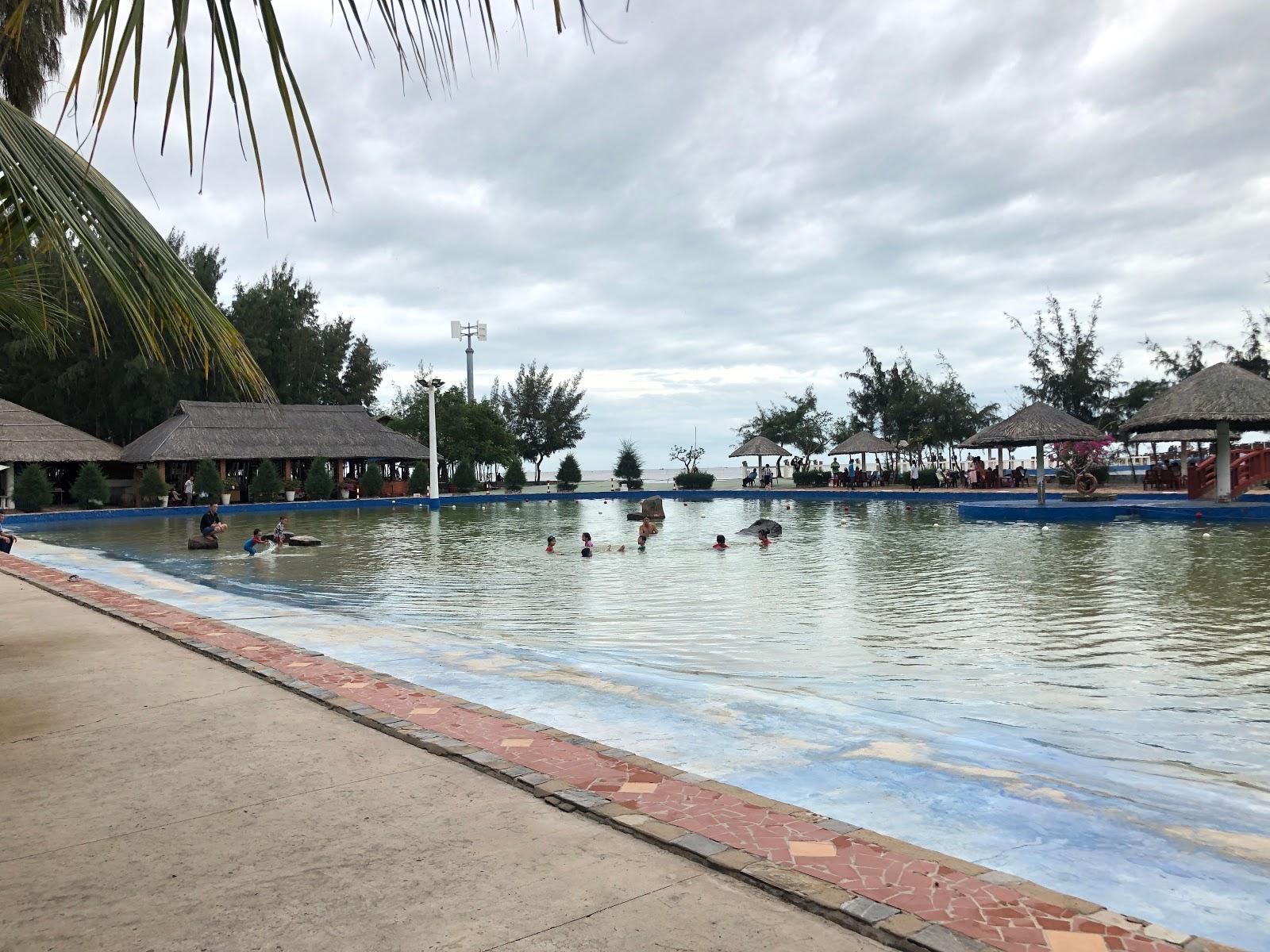 bể bơi khu du lịch sinh thái biển Phương Nam