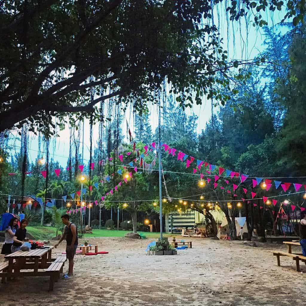 picnic tại khu du lịch cao minh