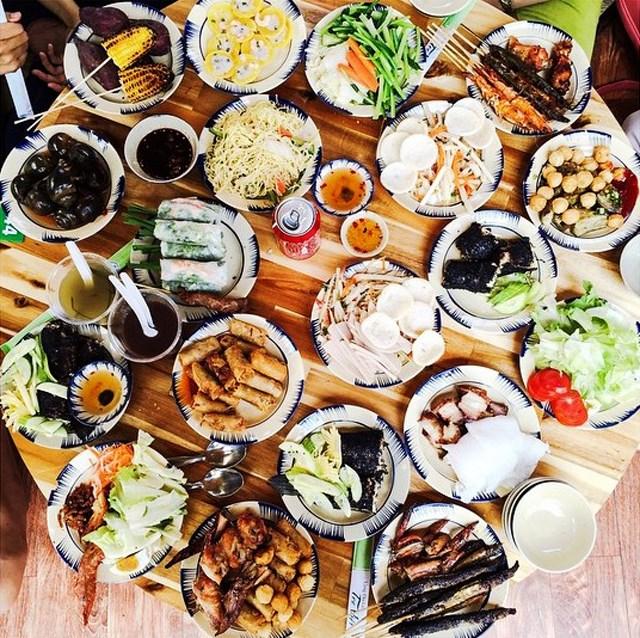 ăn gì tại khu du lịch cao minh