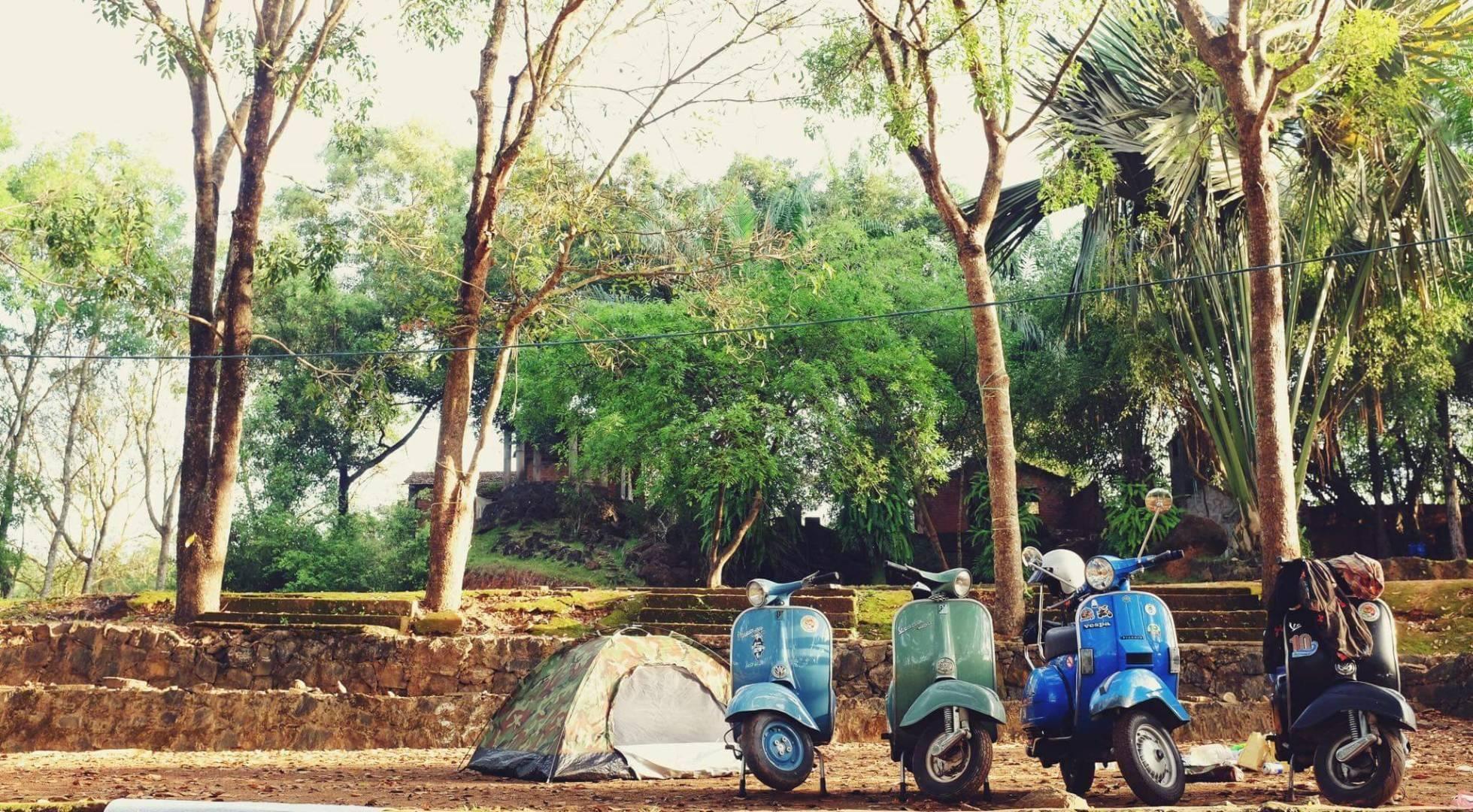 khu du lịch sinh thái cao minh đi bằng xe máy