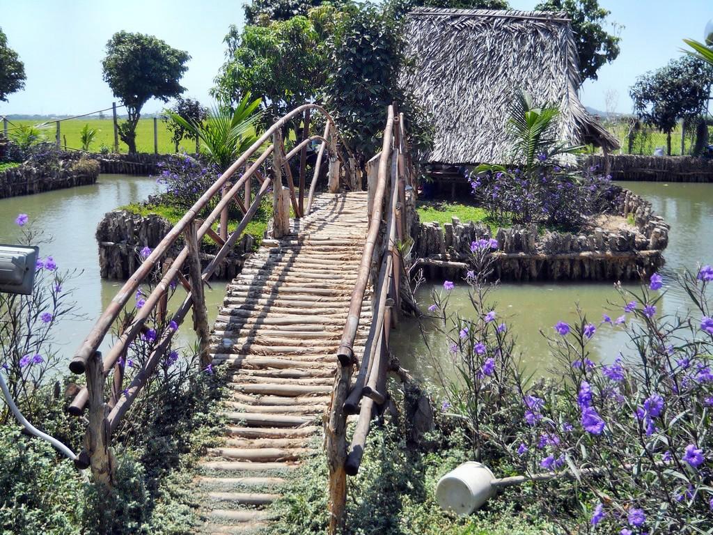 cảnh vật Khu du lịch sinh thái Tứ Phương Thất Đảo