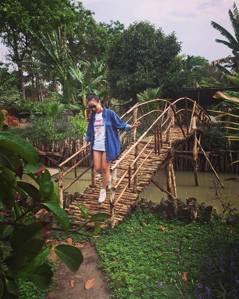 du khách tại Khu du lịch sinh thái Tứ Phương Thất Đảo