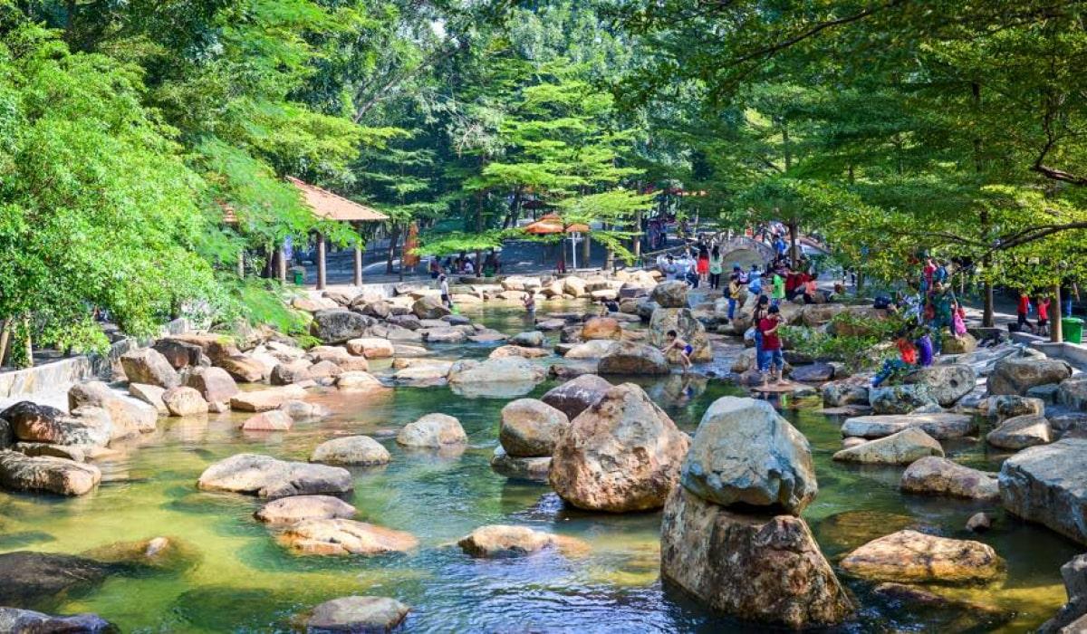 Khu du lịch sinh thái Thủy Châu gần Sài Gòn