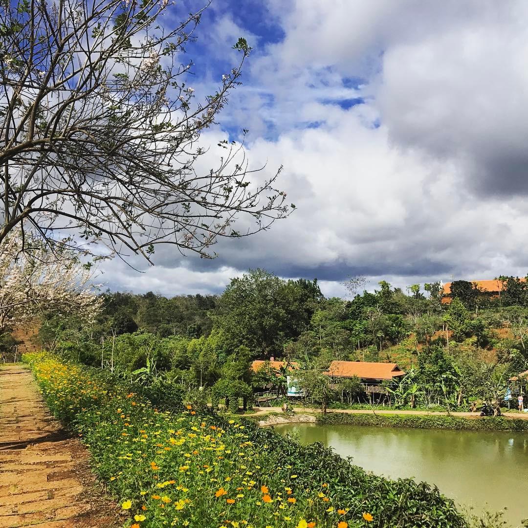 tháng 9 phù hợp tham quan khu du lịch sinh thái kotam