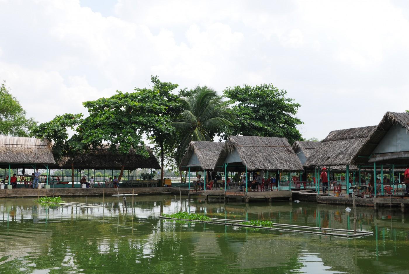 khu du lịch sinh thái Lái Thiêu sông nước