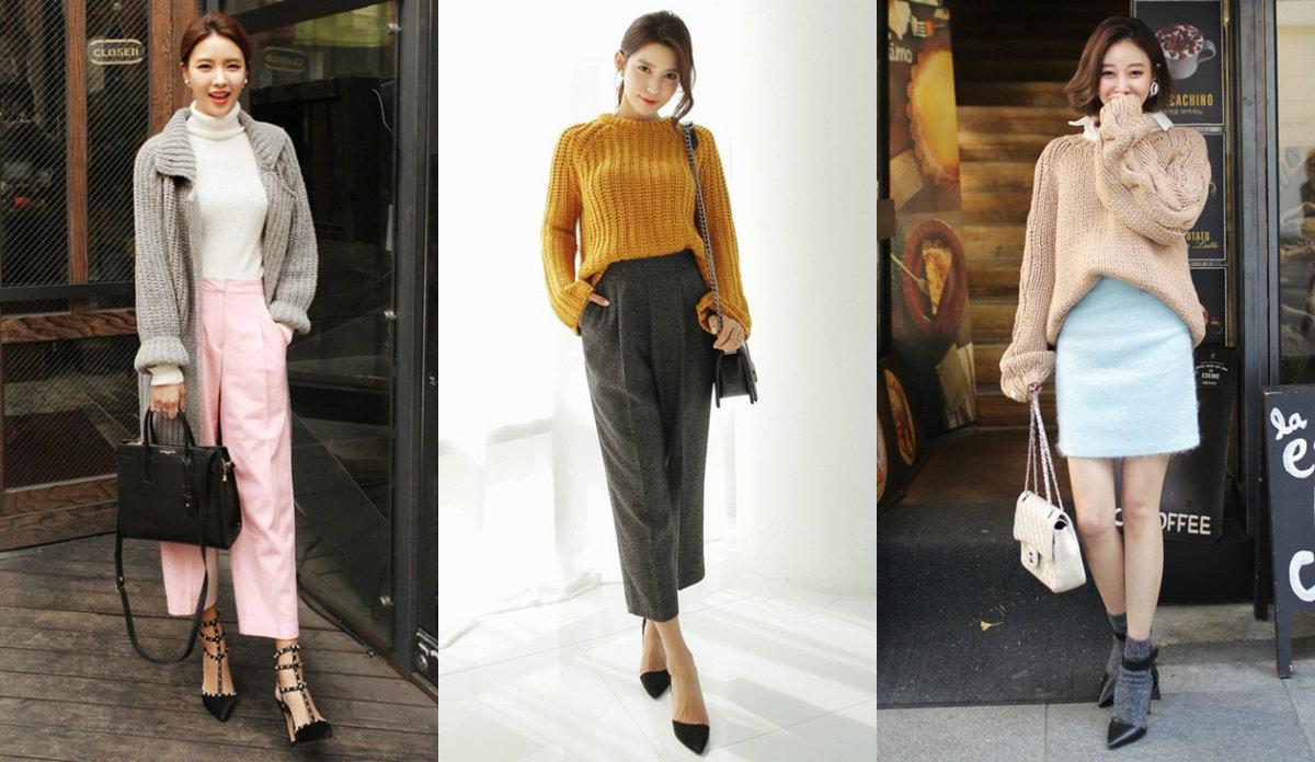 mix đồ đông chú ý đến độ dài trang phục