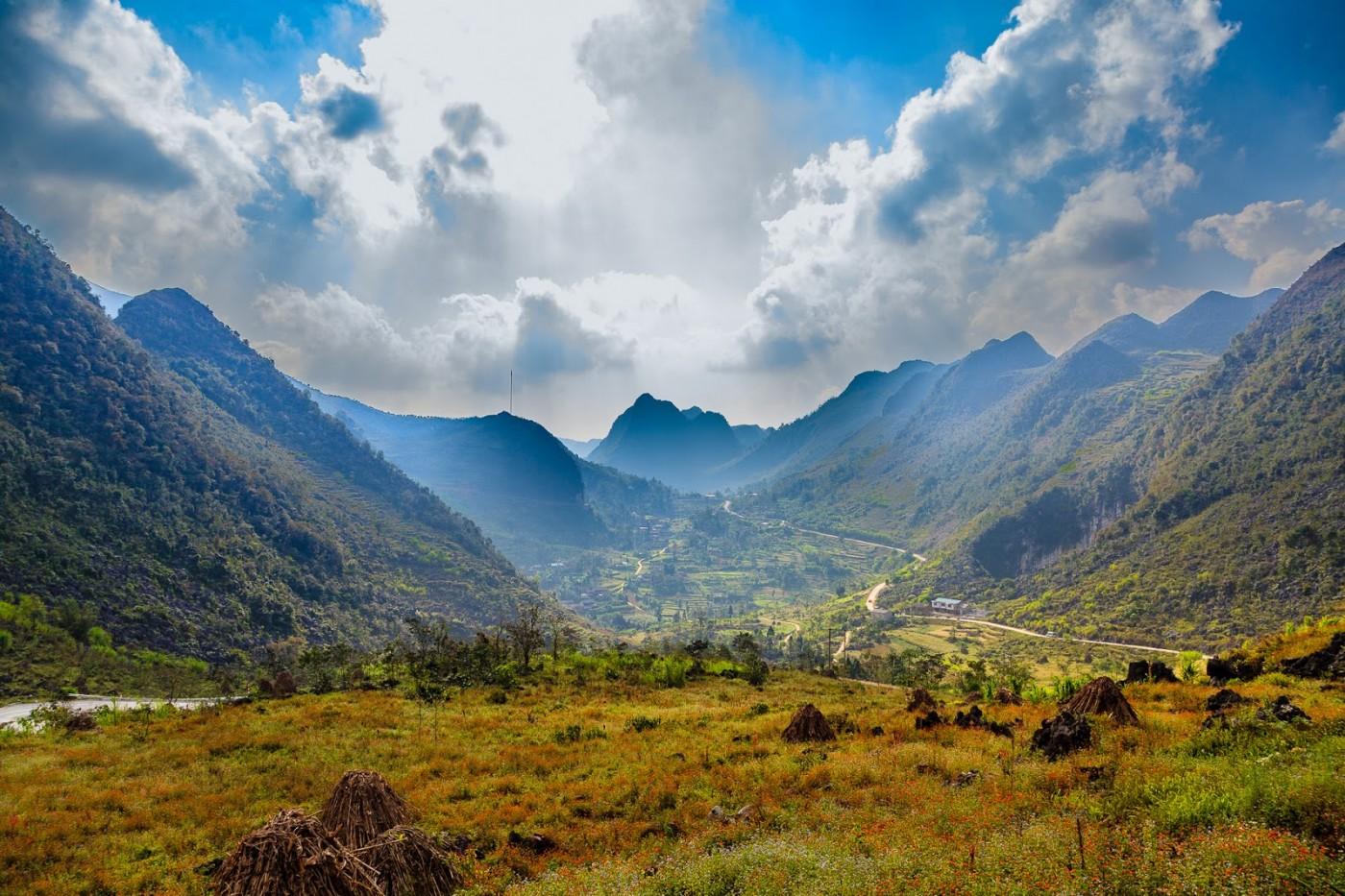danh lam thắng cảnh miền bắc Cao nguyên đá Đồng Văn