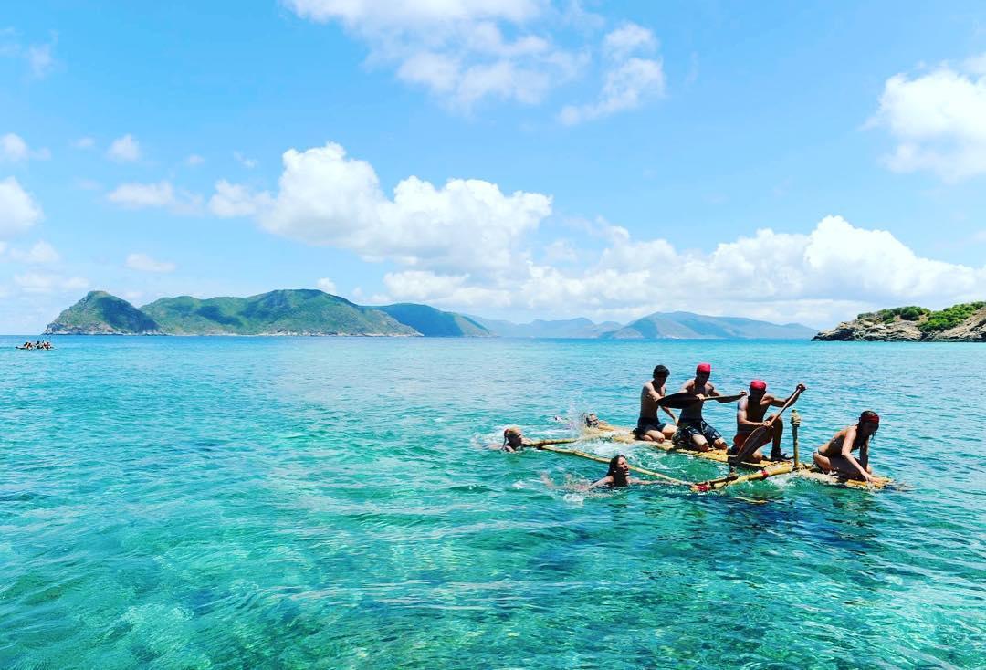 vẻ đẹp biển côn đảo