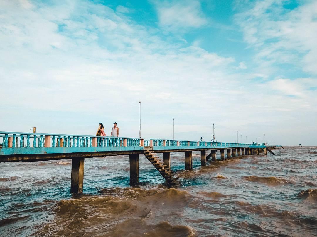 Danh lam thắng cảnh ở miền Nam- Bãi biển Tân Thành
