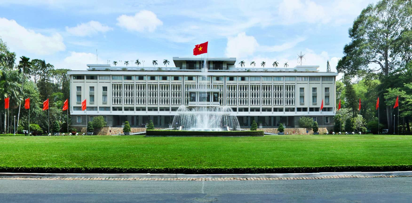 Dinh Độc Lập danh lam thắng cảnh ở thành phố Hồ Chí Minh