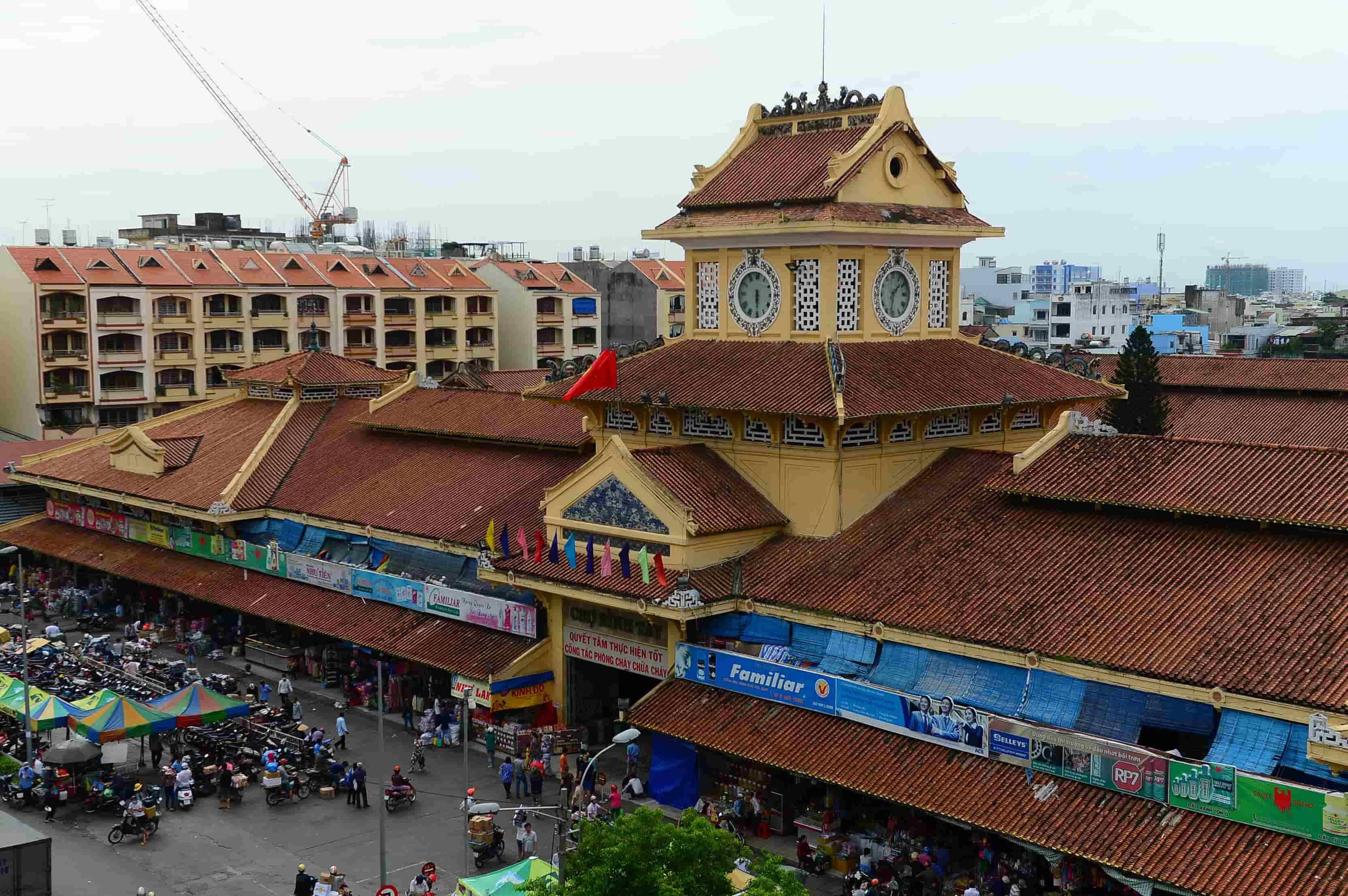 Chợ Bình Tây- cảnh đẹp thành phố Hồ Chí Minh