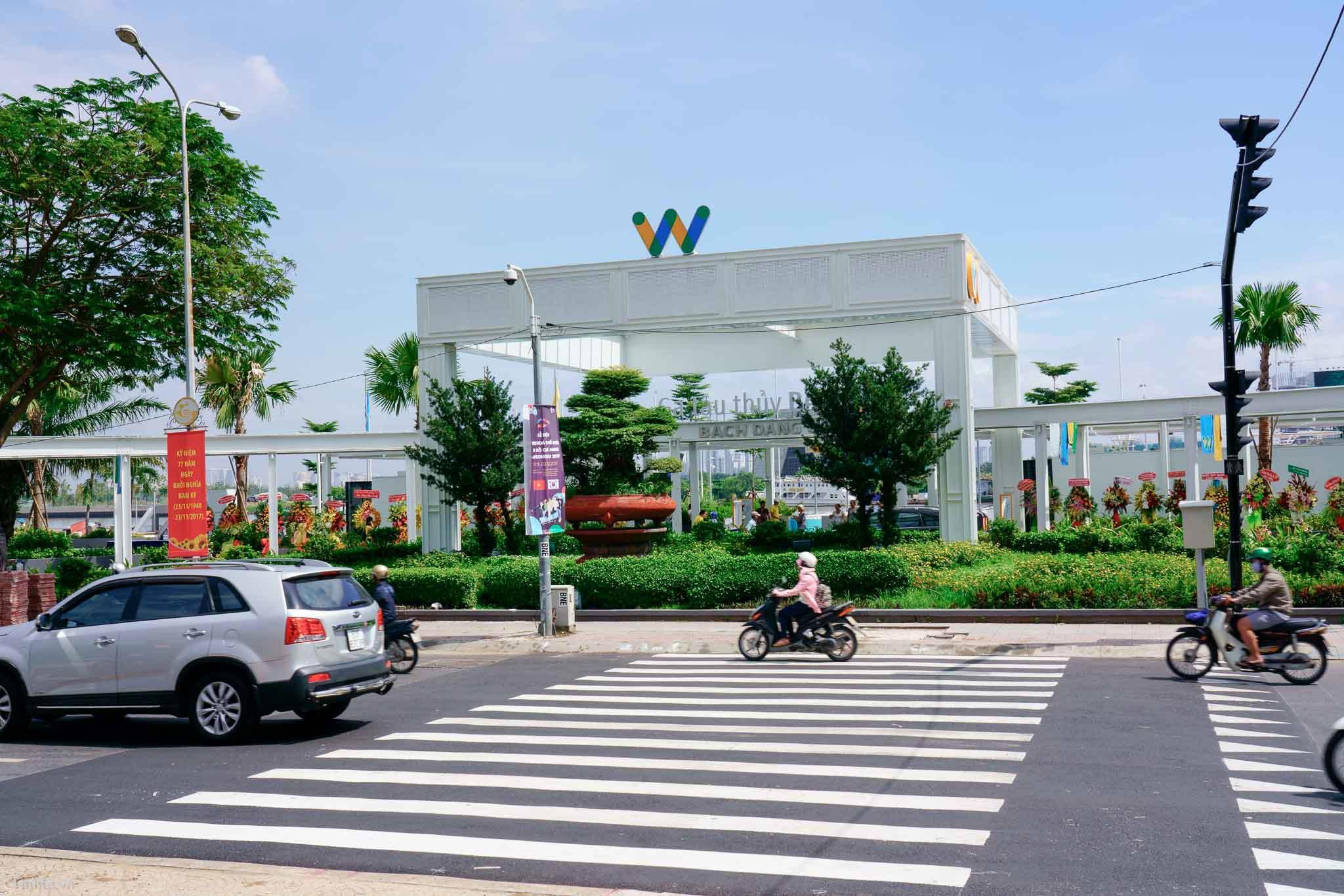 Bến Bạch Đằng- cảnh đẹp ở TP Hồ Chí Minh