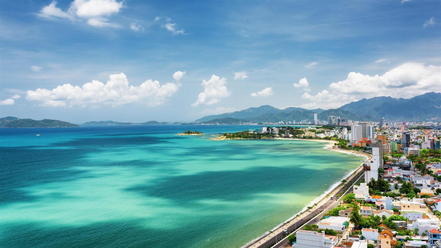 biển nha trang cảnh đẹp thiên nhiên việt nam