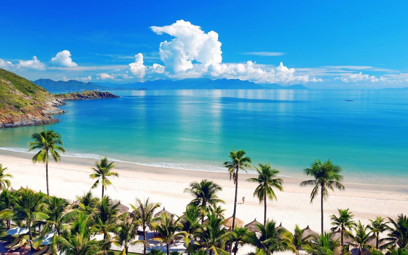 biển nha trang phong cảnh việt nam tươi đẹp
