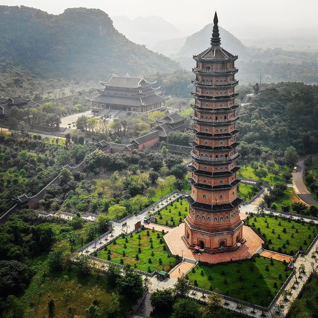 bái đính- ngôi chùa có phong cảnh đẹp nhất việt nam