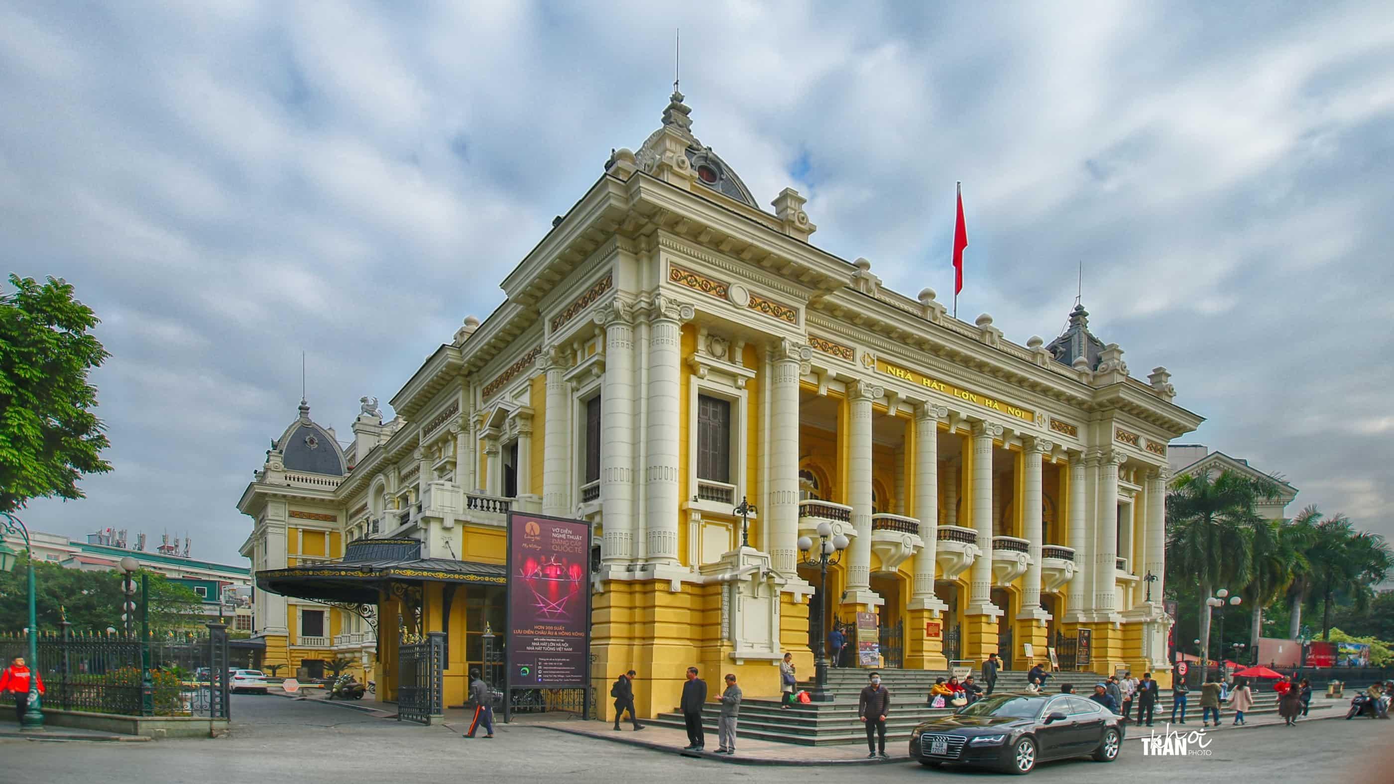 nhà hát lớn hà nội danh lam thắng cảnh thủ đô