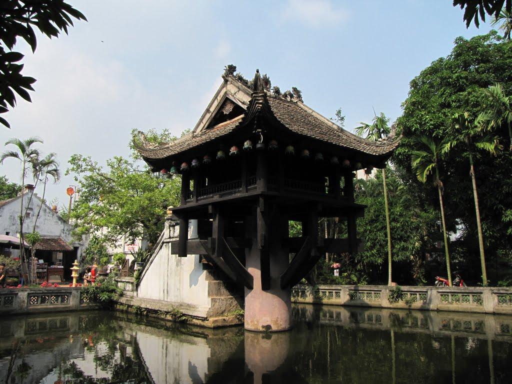 chùa một cột xây dựng từ lâu đời