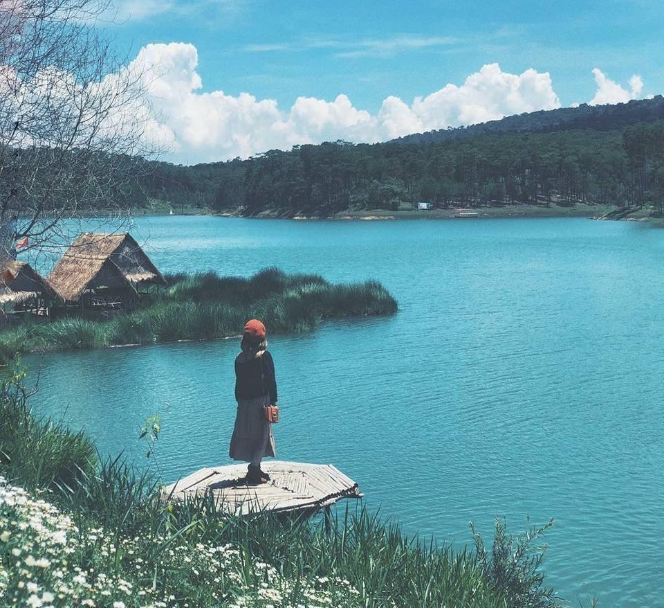 hồ tuyền lâm thắng cảnh đà lạt đẹp