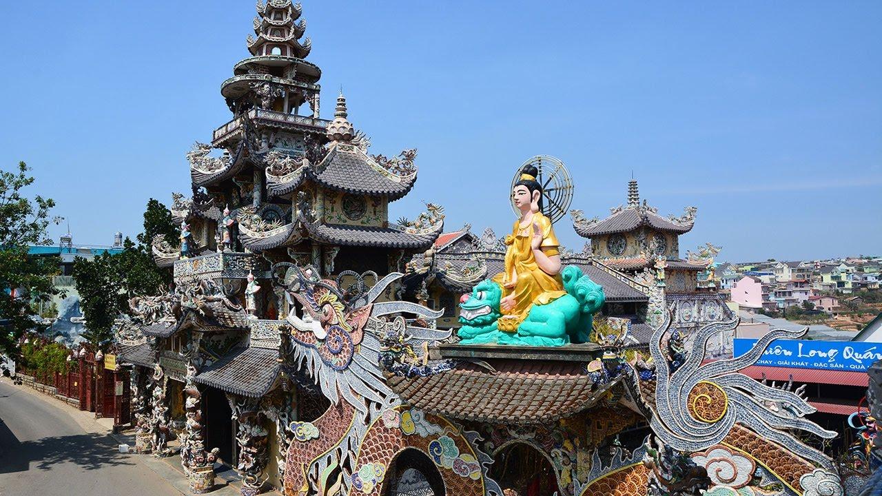 chùa linh phước danh lam thắng cảnh đà lạt