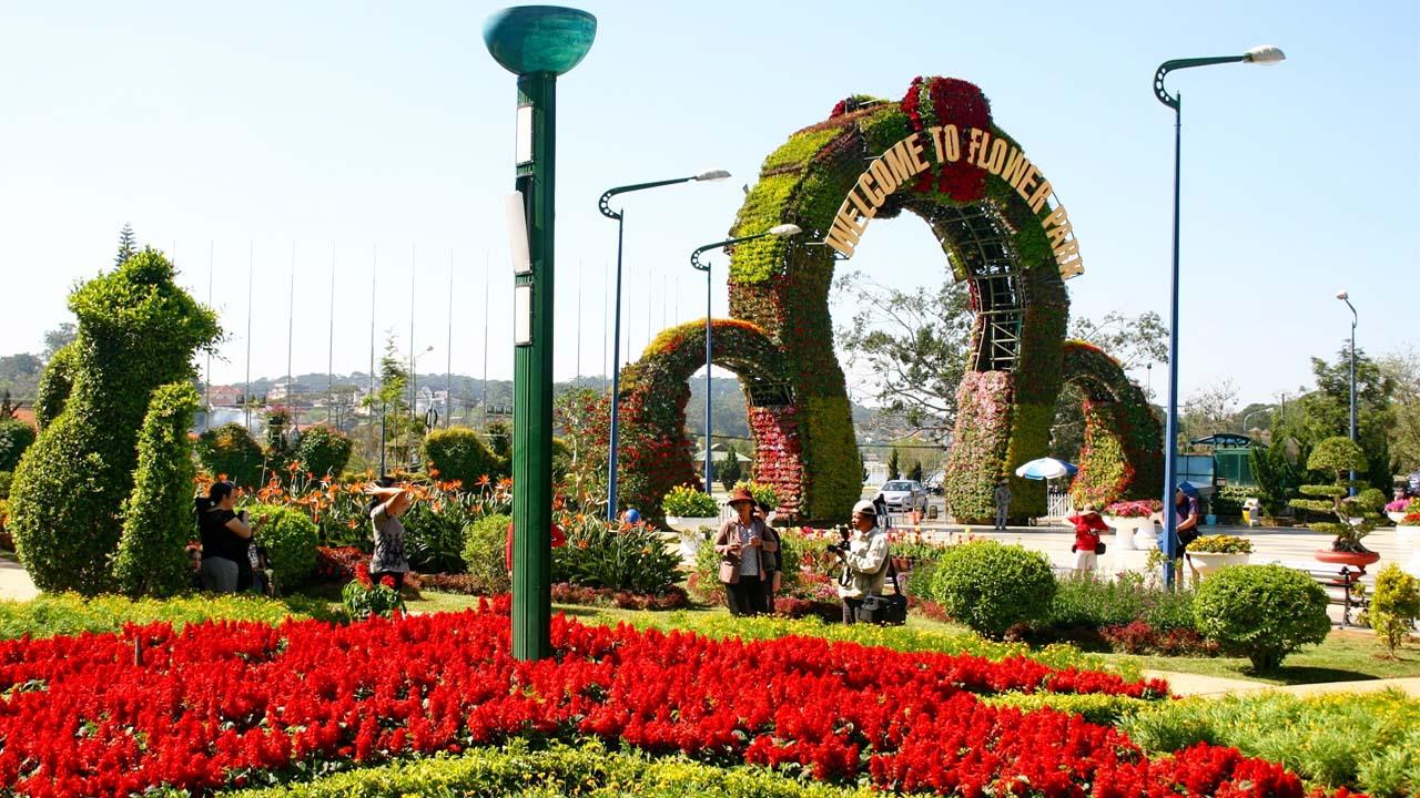 vườn hoa đà lạt danh thắng đà lạt