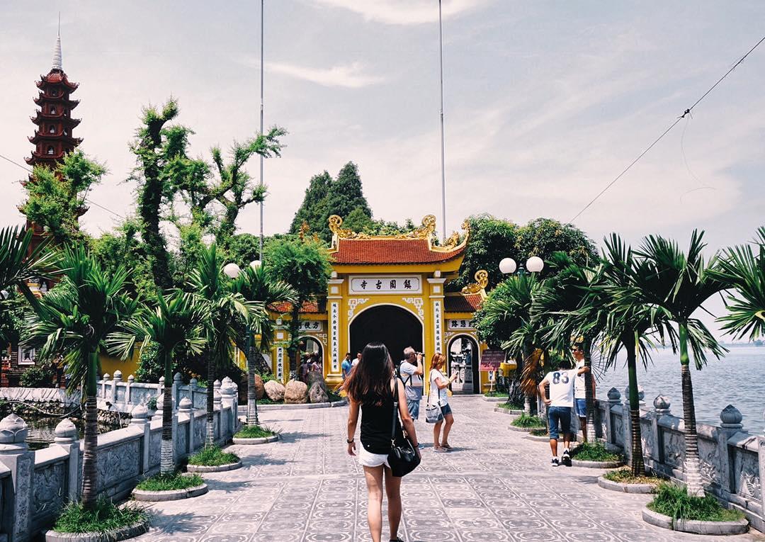 Chùa Trấn Quốc danh thắng ở Hà Nội