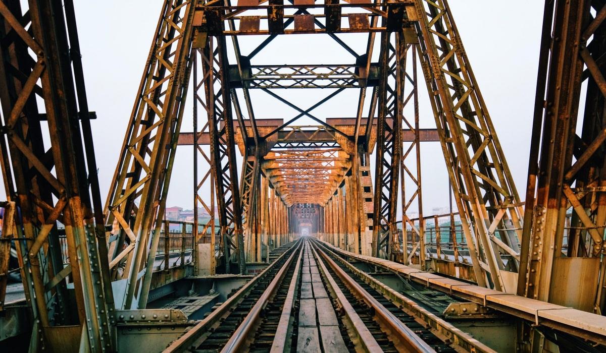 Cầu Long Biên- phong cảnh Hà Nội