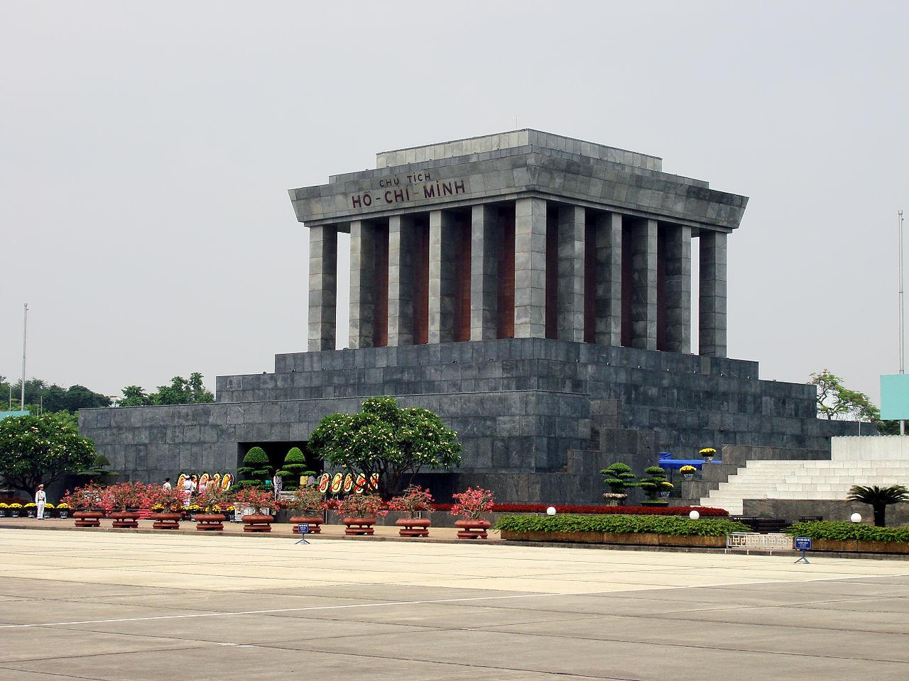 danh lam thắng cảnh hà nội lăng chủ tịch Hồ Chí Minh