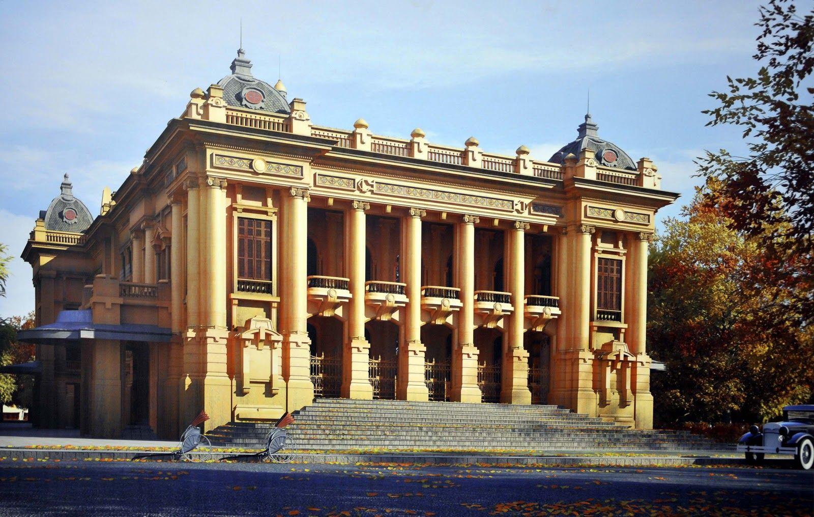 cảnh đẹp hà nội nhà hát lớn