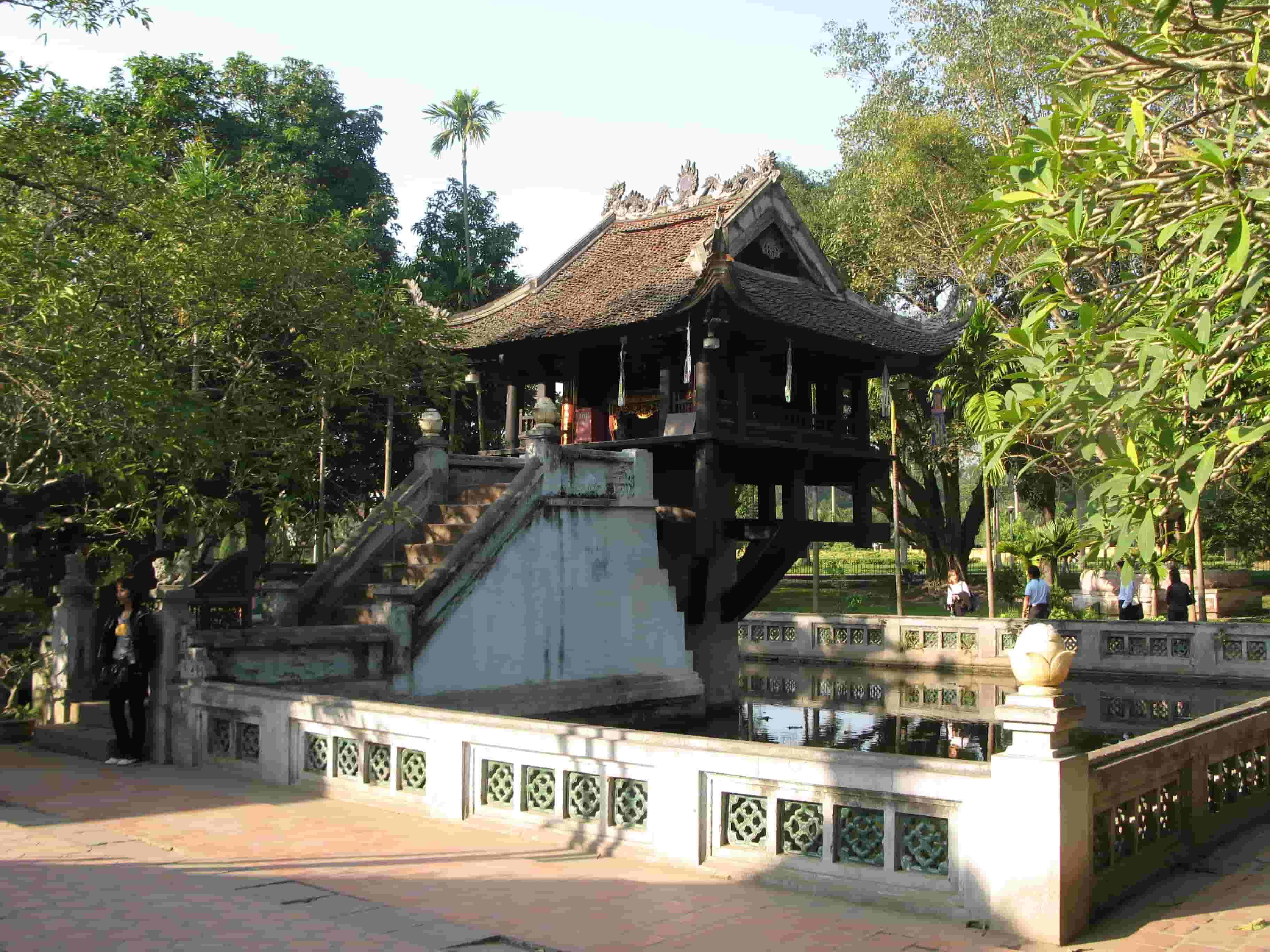 chùa một cột các danh lam thắng cảnh ở hà nội