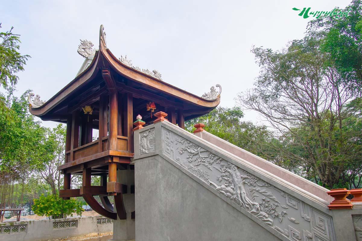 cảnh đẹp hà nội chùa một cột