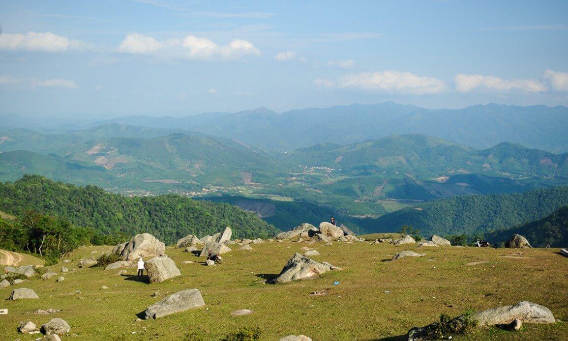 Cảnh đẹp mùa đông ở Đồng Cao