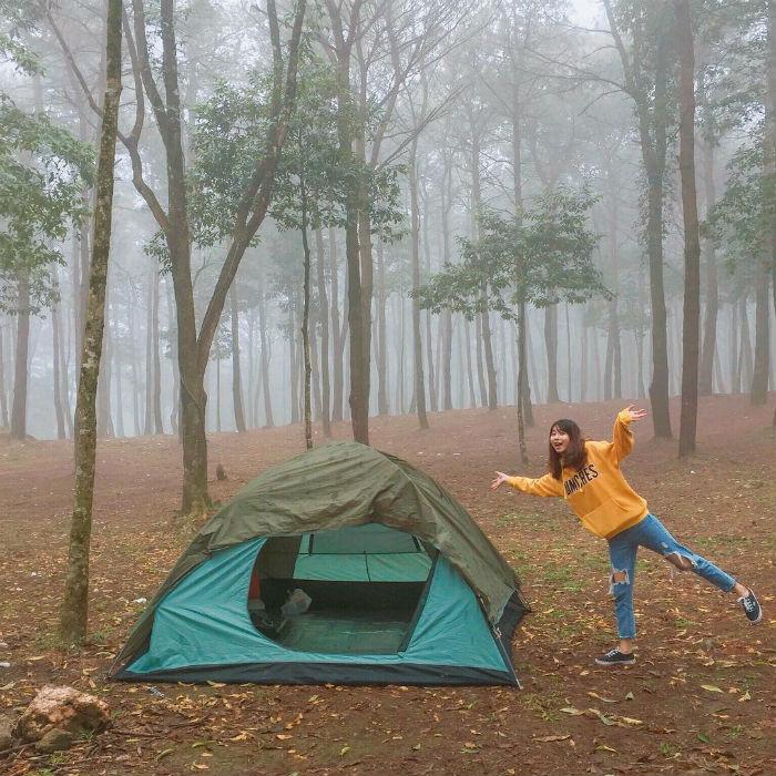 địa điểm cắm trại gần Ba Vì Hà Nội