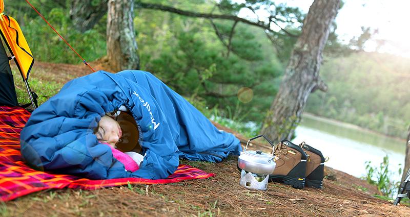 mua túi ngủ ở đâu Hà Nội