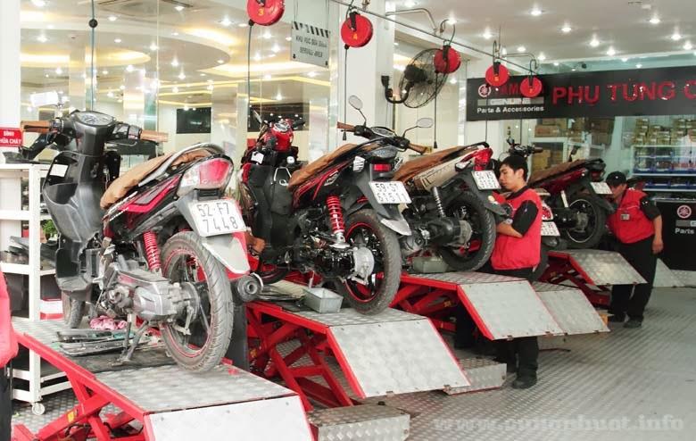 chuẩn bị đồ đi phượt bằng xe máy