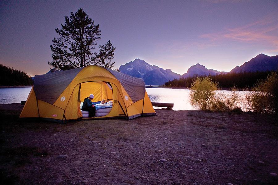 kinh nghiệm đi cắm trại