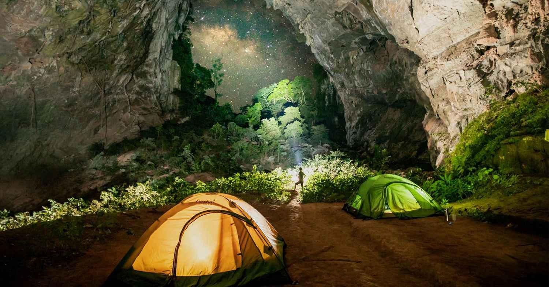 địa điểm cắm trại hoang sơ