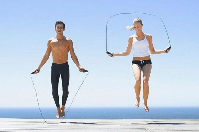 tập thể dục giảm mỡ toàn thân