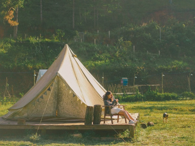 địa điểm cắm trại ở Đà Lạt