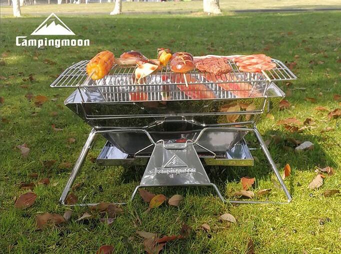 chuẩn bị đồ ăn đi cắm trại